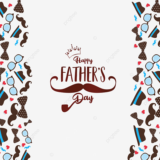 happy fathers day poster border