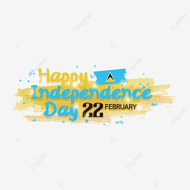 happy independence day saint lucia