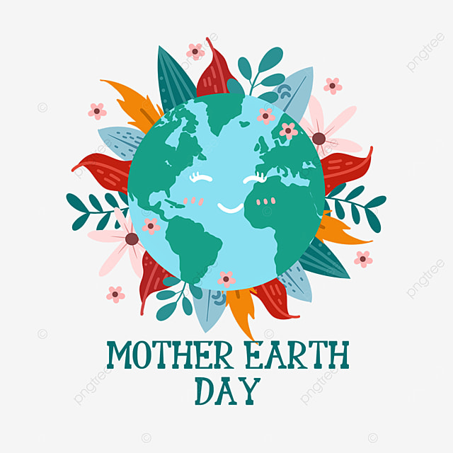mother earth day homeland protection plants and flowers