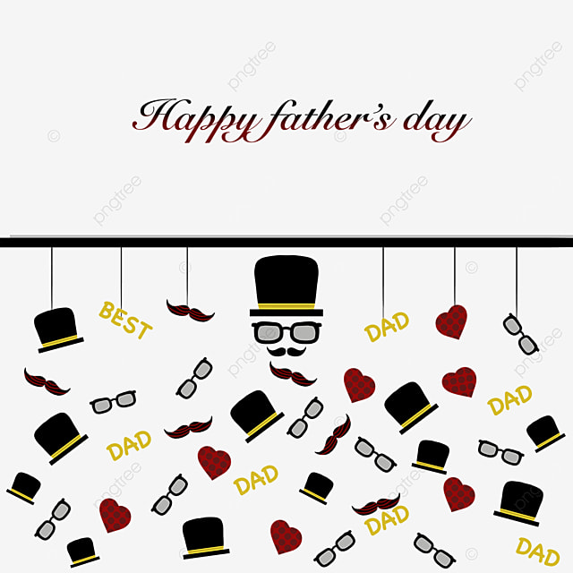 personality happy fathers day border