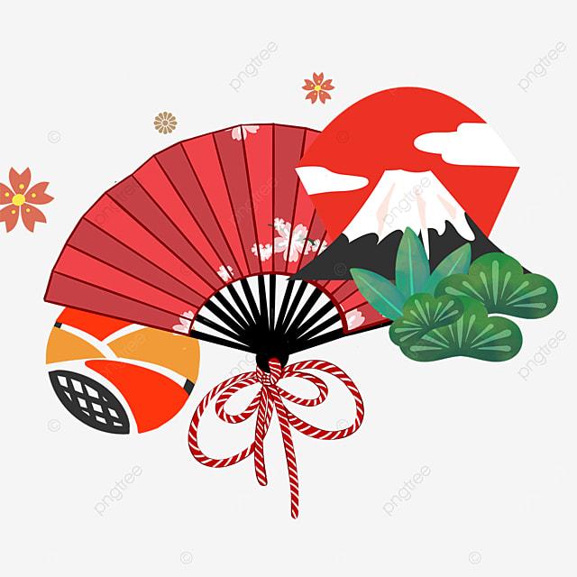 red fan fuji