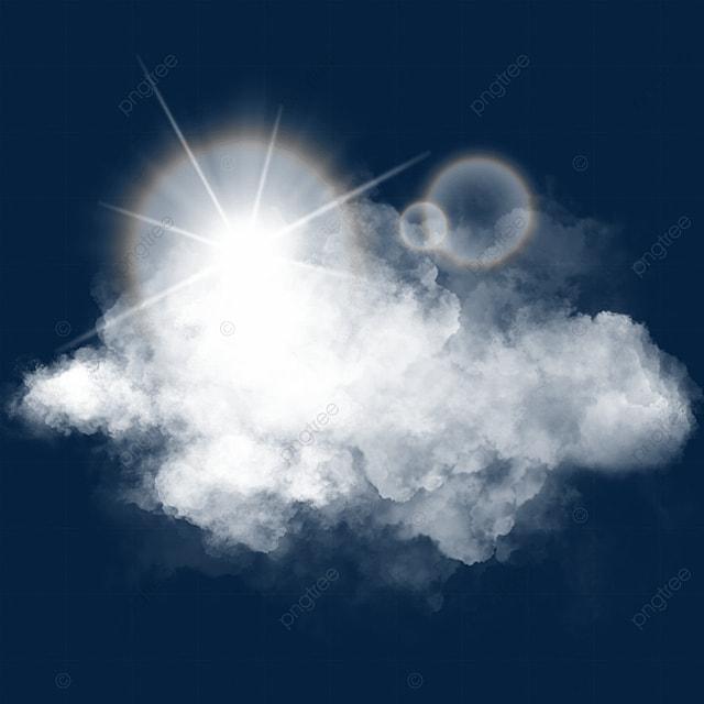 sky clouds sun light effect