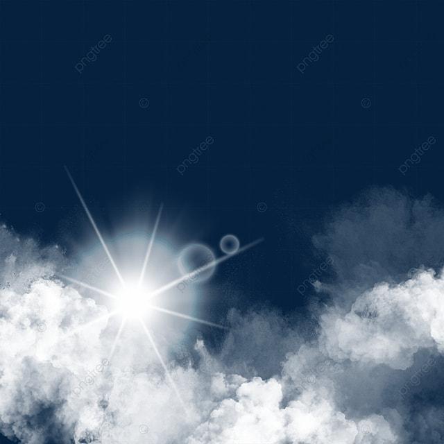 sky decoration sun light effect