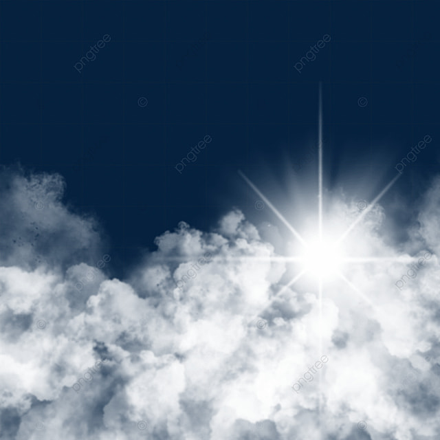sky light effect sun rays