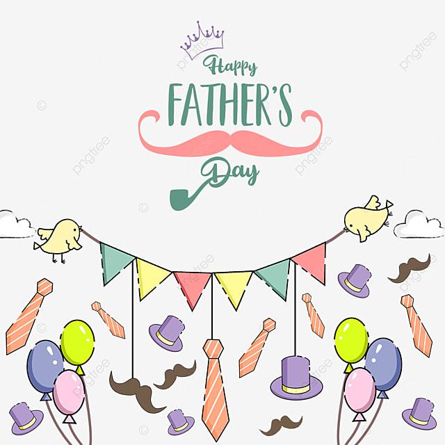 warm happy fathers day border
