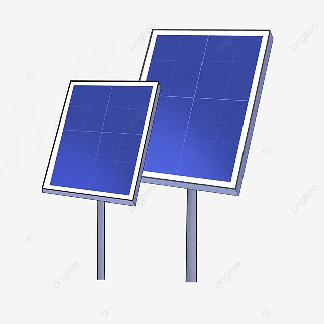 a set of solar panels clipart