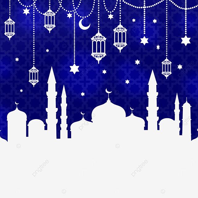 architectural background pendant eid mubarak exquisite border