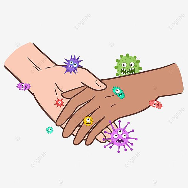bacteria new coronavirus business gesture
