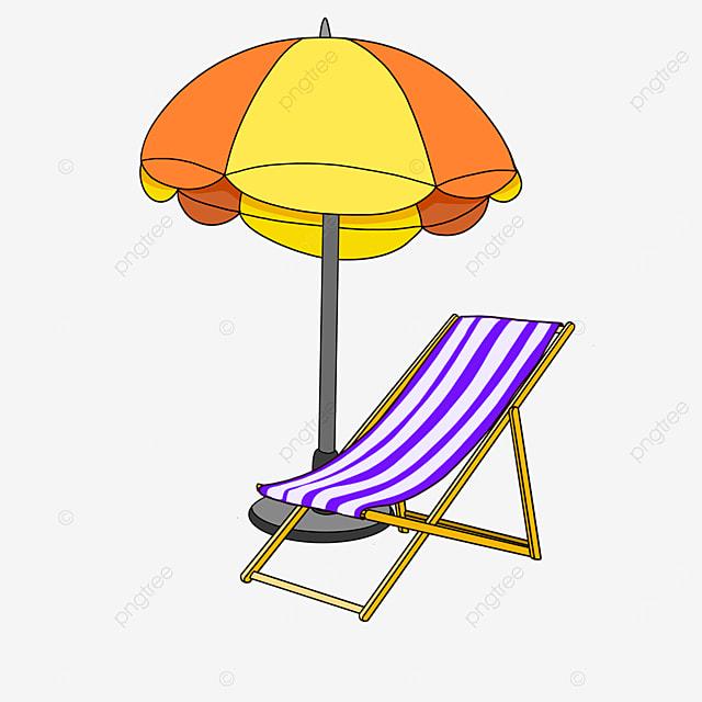 beach chair clip art