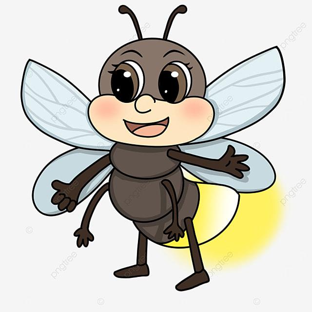 black firefly clip art