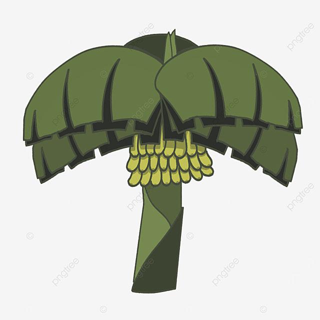 broadleaf banana tree clip art