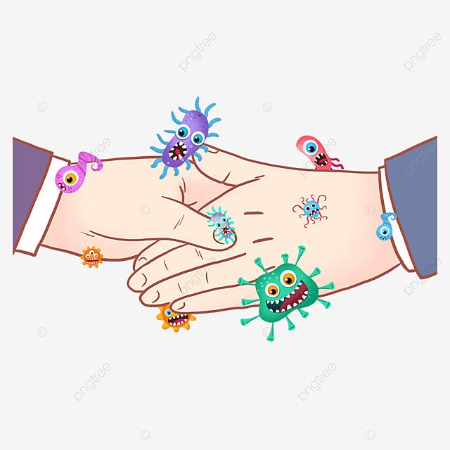 business handshake gesture new coronavirus