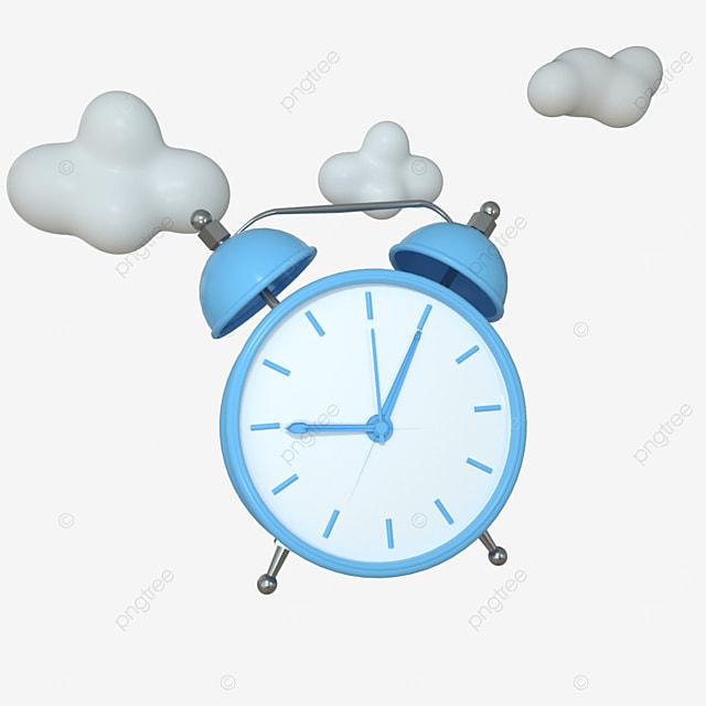 cartoon simple fashion creative clock