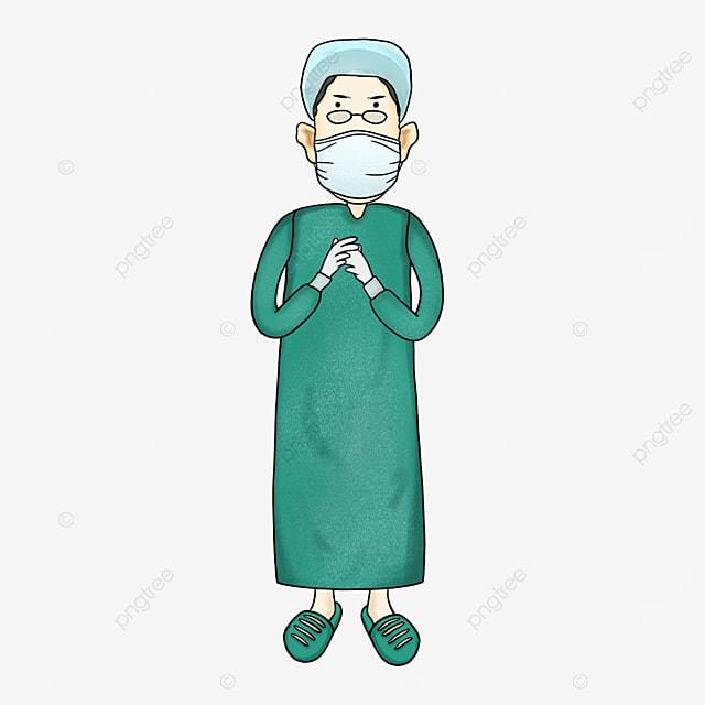 cartoon surgeon clipart