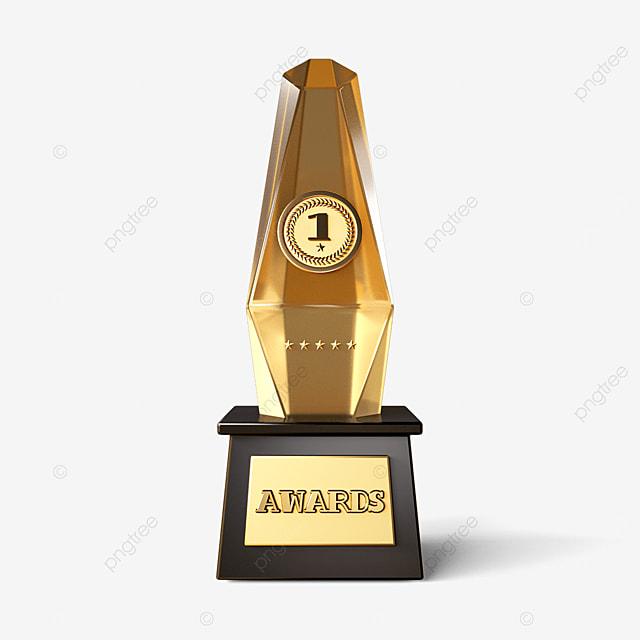 champion three dimensional trophy