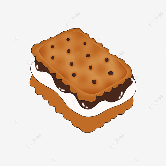 classic graham cookies clip art