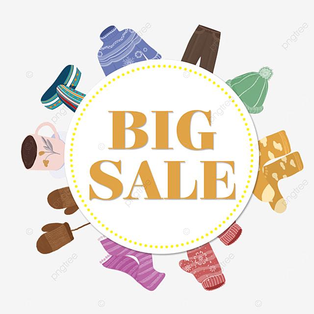 clothes promotion big price cut event border