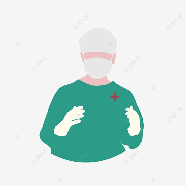 concise surgeon clipart