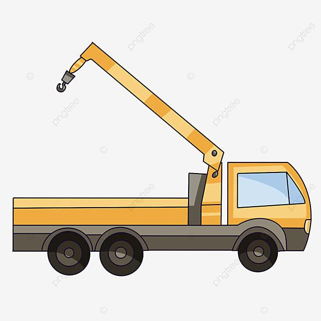 crane with arm raised clip art