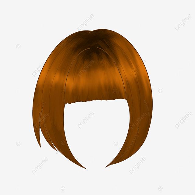 cute lady wig clipart