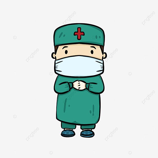 cute surgeon clipart