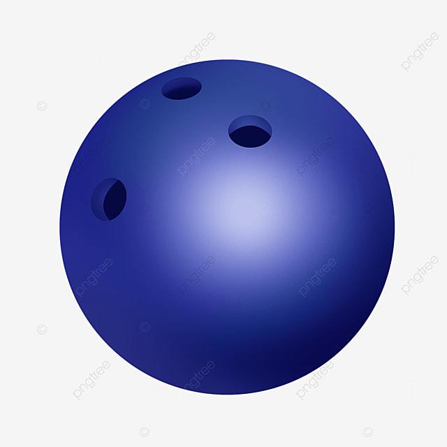 dark blue gradient highlight bowling clip art