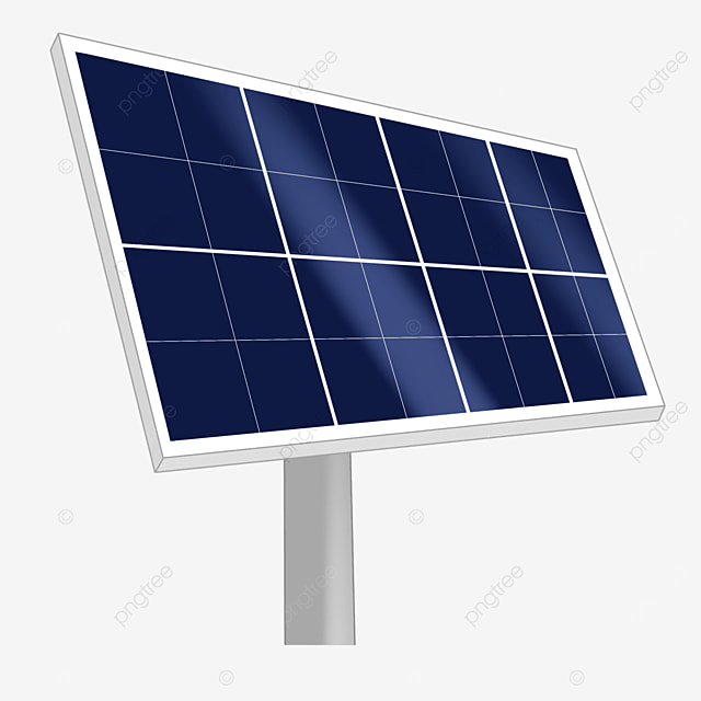 dark blue rectangular solar panel clipart