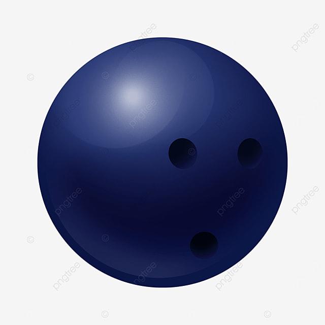 dark blue three dimensional bowling clip art