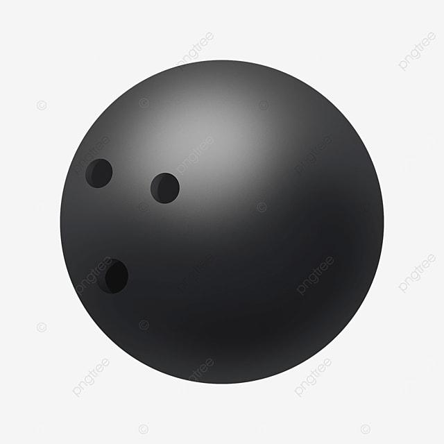 dark gray gradient highlight bowling clip art