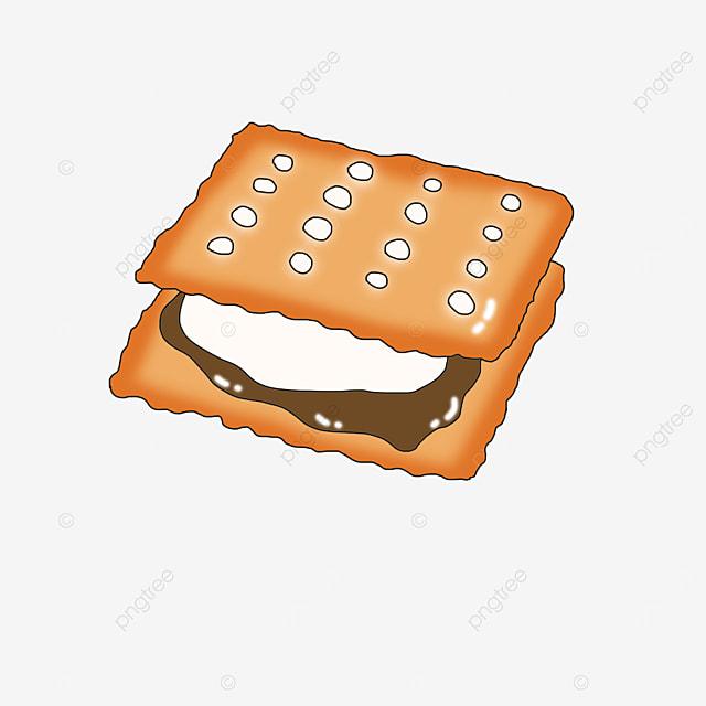 delicious graham cookies clip art