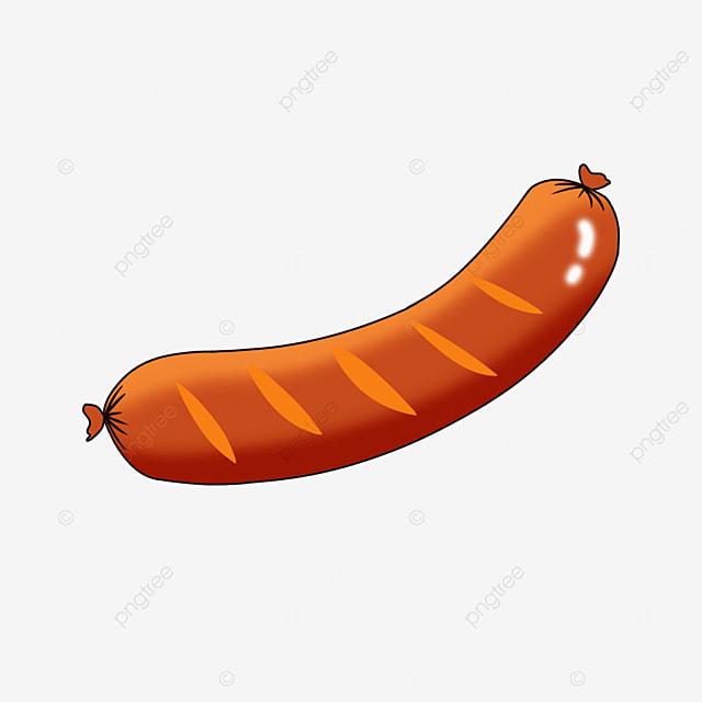 delicious sausage clipart