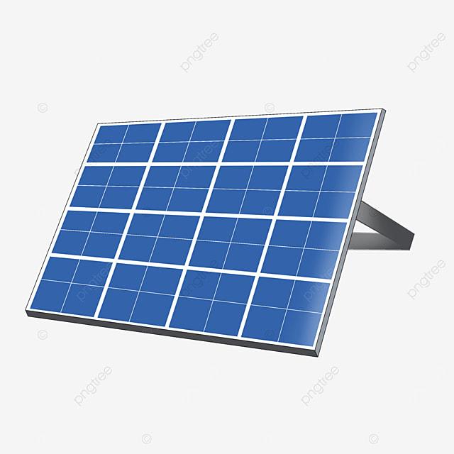 energy saving equipment solar panel clipart