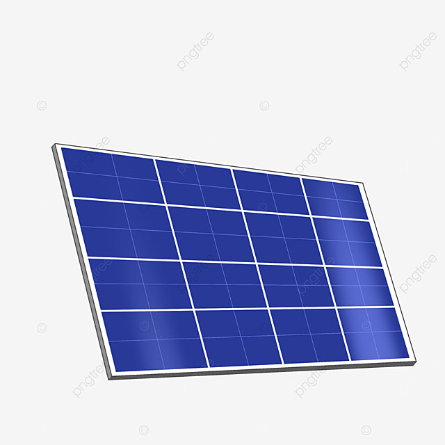 energy saving solar panels clipart