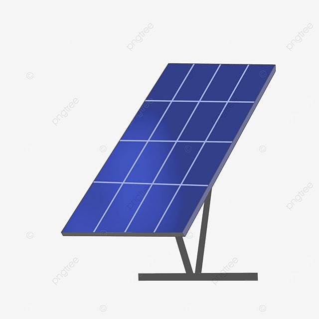 environmental protection technology solar panel clipart