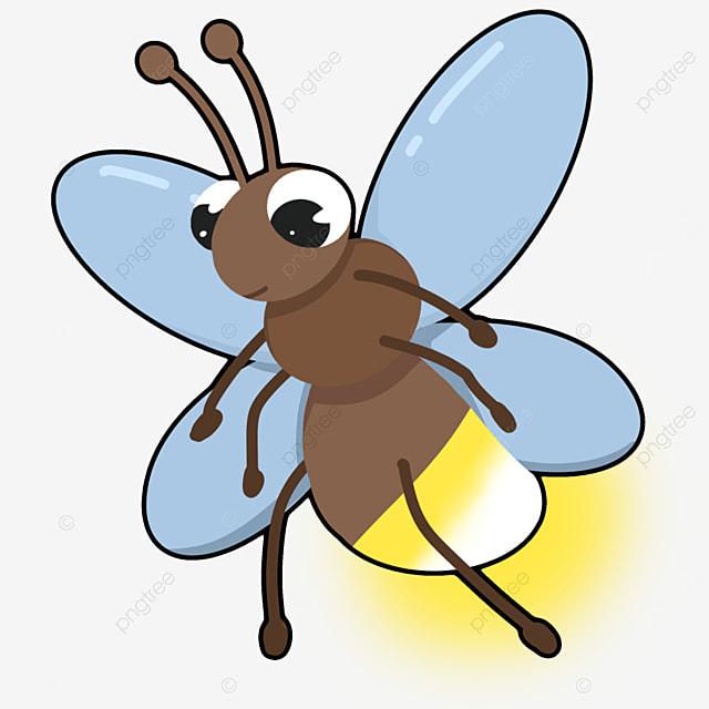 flying firefly clip art
