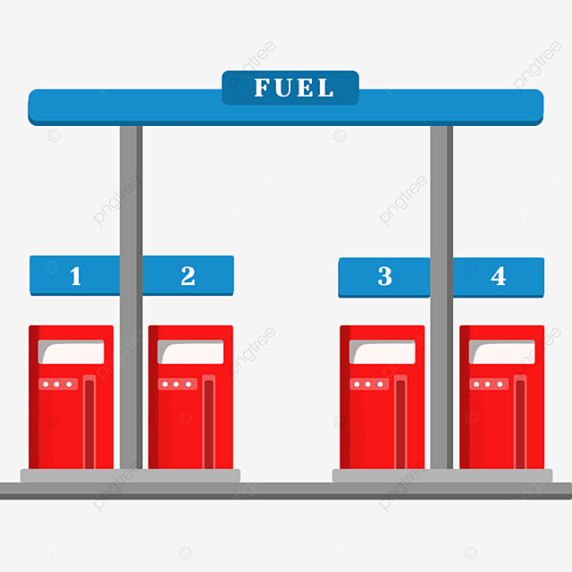 gas station clip art