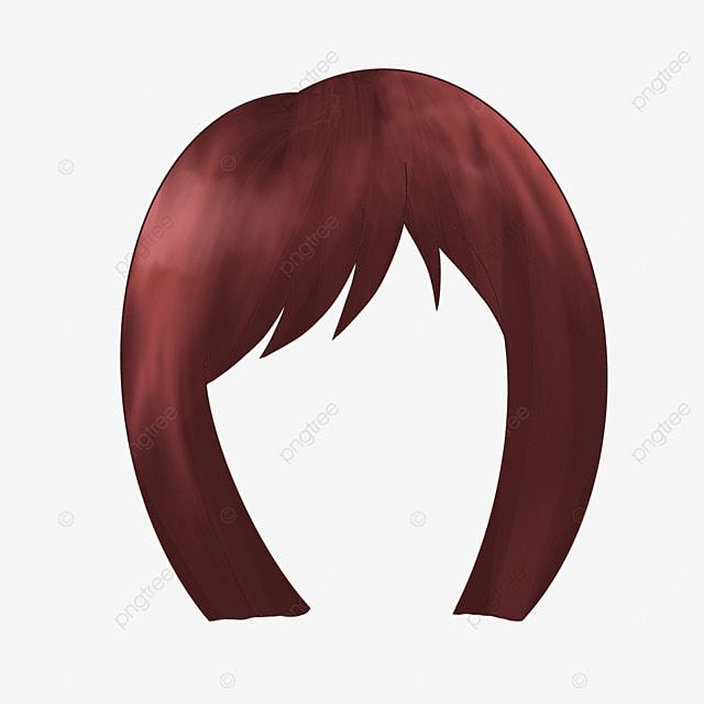 gentle lady wig clip art