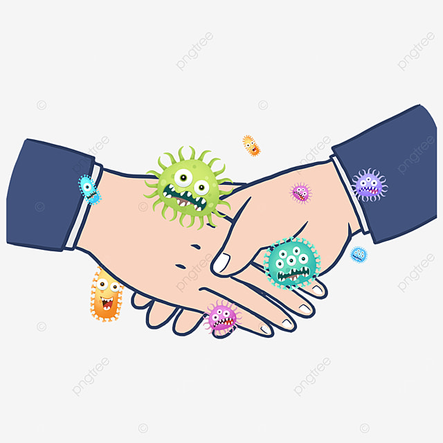 gesture handshake business new coronavirus