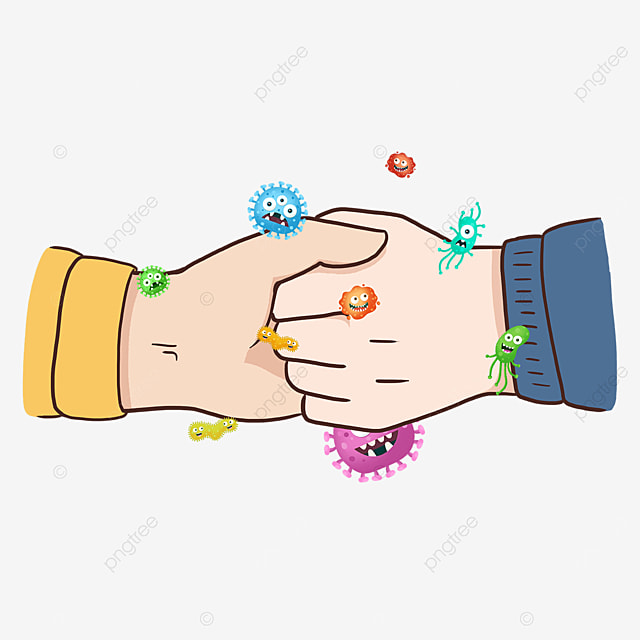 gesture holding hands new coronavirus business