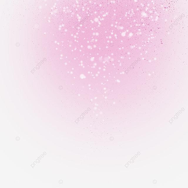 gold pink light effect border