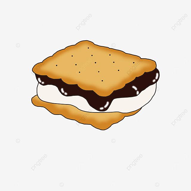 graham cookies clip art