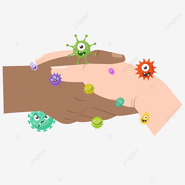 handshake business new coronavirus gesture