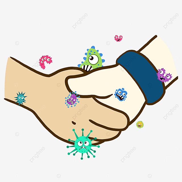 handshake new crown virus business
