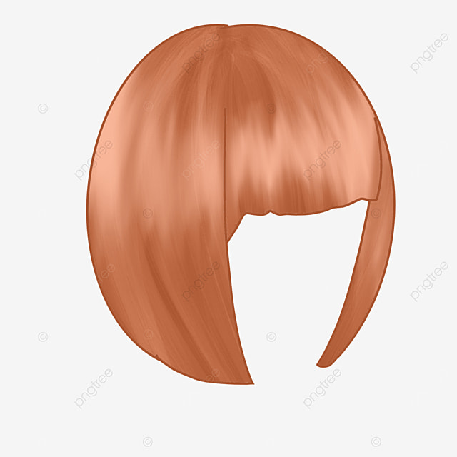 lady wig clipart earthy yellow