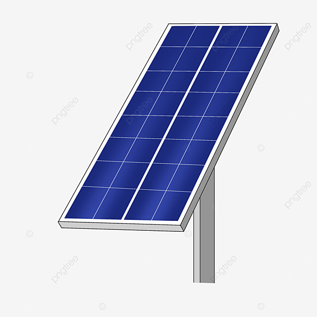 large solar panel clip art