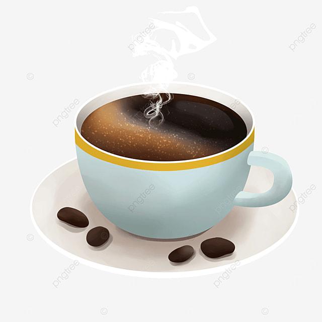 light blue coffee bean steam smoke coffee