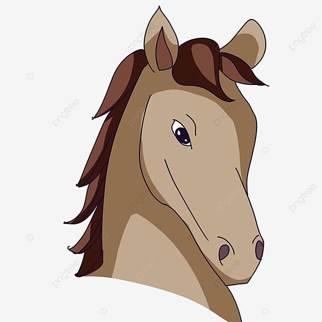 light horse head clip art