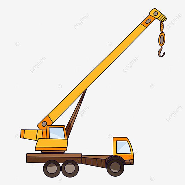 long arm crane clip art