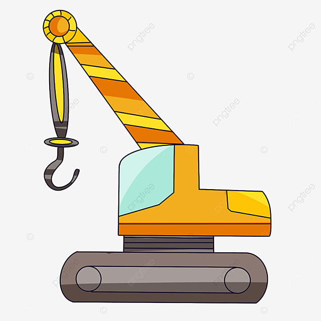 mini crane clip art