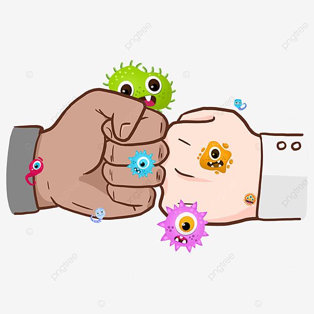 new coronavirus business gesture fist